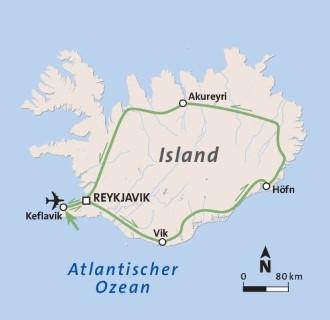 Island Träume aus Feuer und Eis